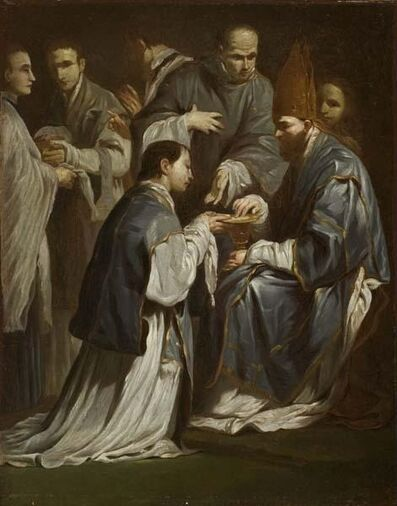Giuseppe Maria Crespi, 'Study for The Sacrament of Ordination', 1665-1712