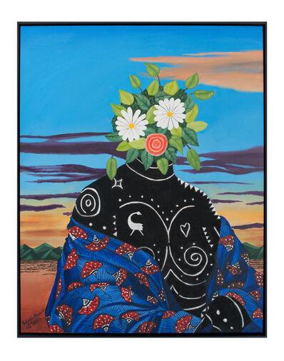 Kelechi Nwaneri, 'Portrait of a lady II', 2020