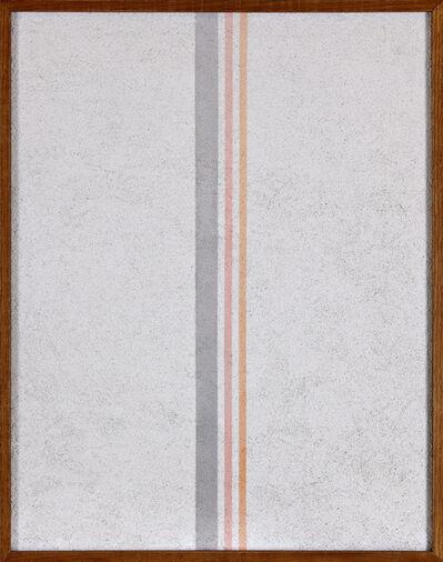 Elio Marchegiani, 'Grammature di colore', 1974