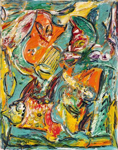 Carl-Henning Pedersen, 'Mor og Barn (Mother and Child)', 1995