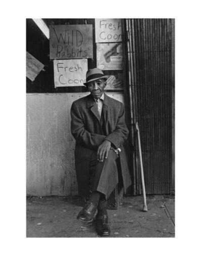 Dawoud Bey, 'Fresh Coons and Wild Rabbits, Harlem, NY ', 1975