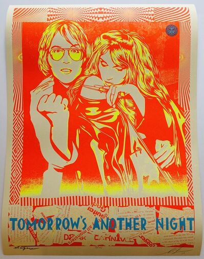Shepard Fairey, 'Tomorrow's Another Night', 2019