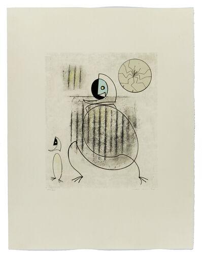 Max Ernst, 'Oiseaux en peril', 1975