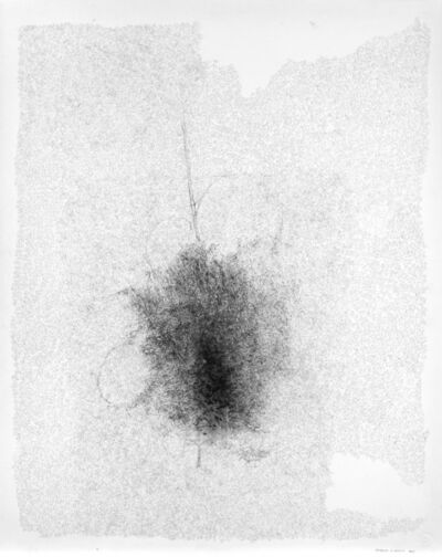 Catalina Chervin, 'Untitled (Giacometti con lineas blancas)', 2013