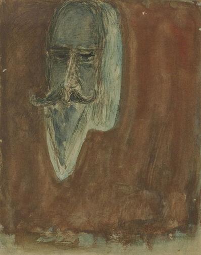 Rabindranath Tagore, 'Self portrait', Undated
