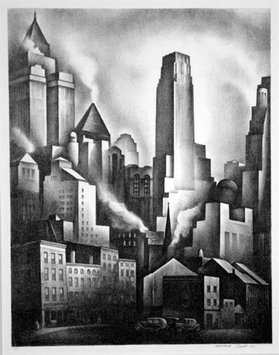 Howard N. Cook, 'Financial District', 1931