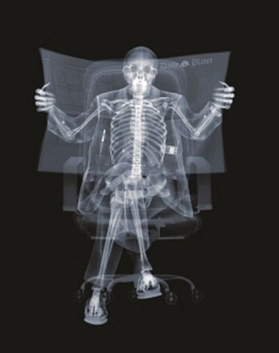 Nick Veasey, 'Newspaper Man ', 2008