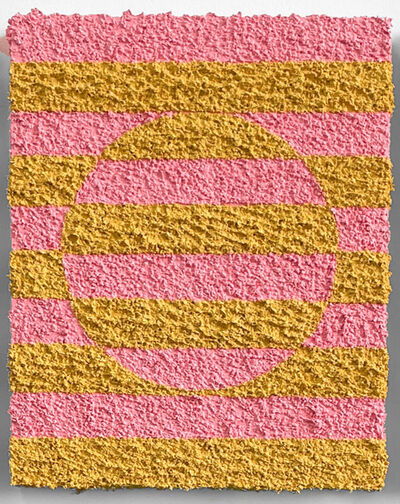 Carlos Rosales-Silva, 'Border Exchange Studies (Pink&Tan)', 2021