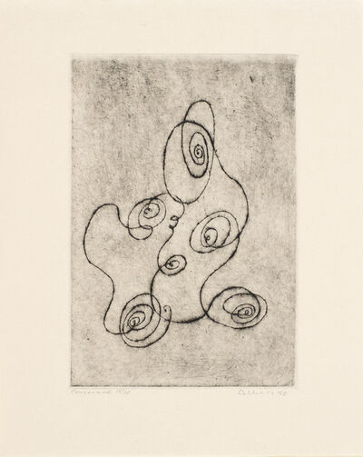 Josef Albers, 'Concerned', 1940