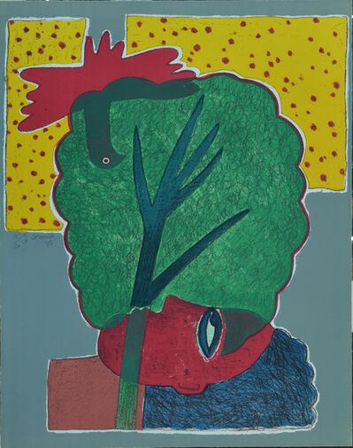 Corneille, 'Sun Feast for Woman & Bird - 5 Papers', 1981