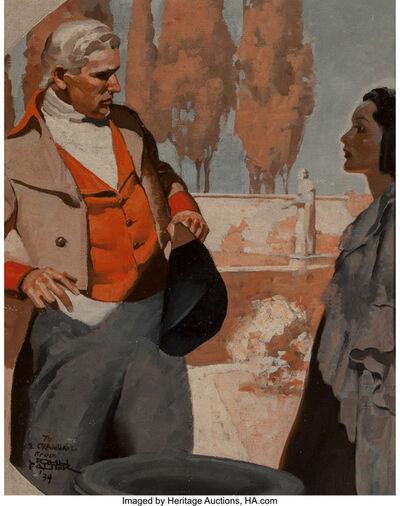 John Philip Falter, 'The Confrontation', 1934