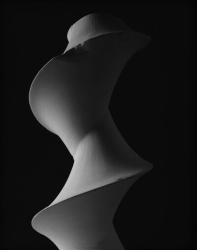 Hiroshi Sugimoto, 'Dini's surface: a surface of constant negative curvature obtained by twisting a pseudosphere', 2004