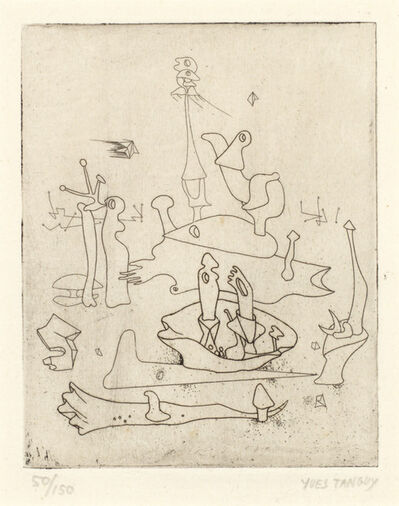 Yves Tanguy, 'Untitled, from Solidarité', 1938