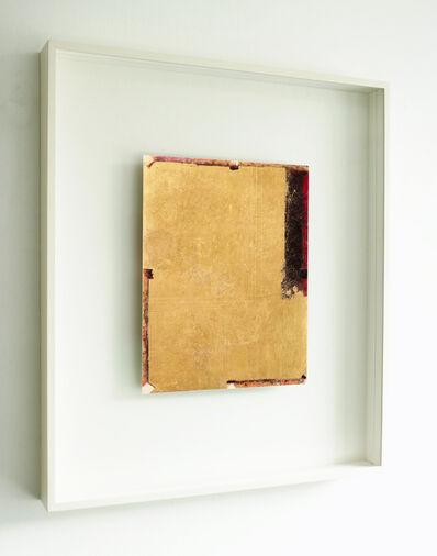 Antonello Viola, 'Oro su nero rosso', 2017