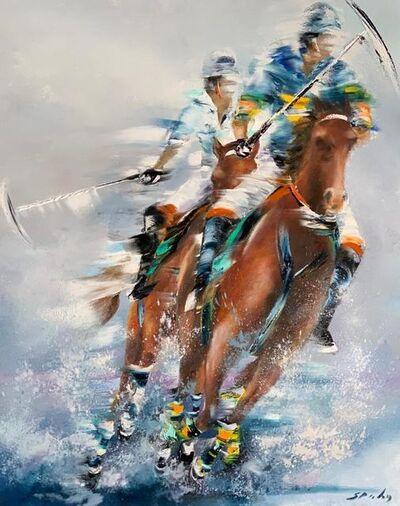 Victor Spahn, 'Joueurs de polo', ca. 2019
