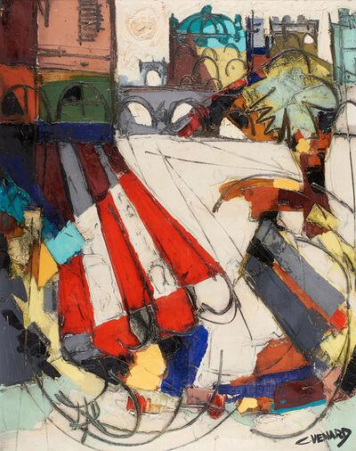 Claude Venard, 'Untitled (Abstract City Scene)'