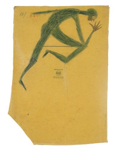 Bill Traylor, 'Running Man (Jessie Owens)', ca. 1939
