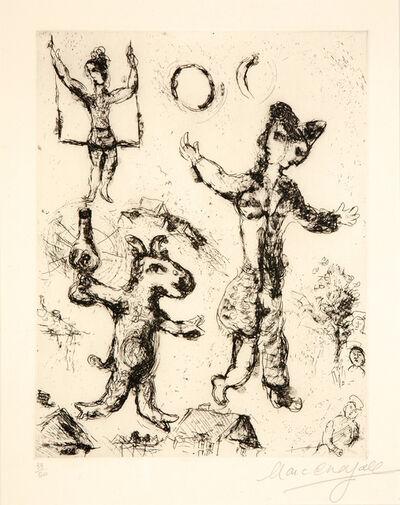 Marc Chagall, 'Le rêve de l'âne', 1968