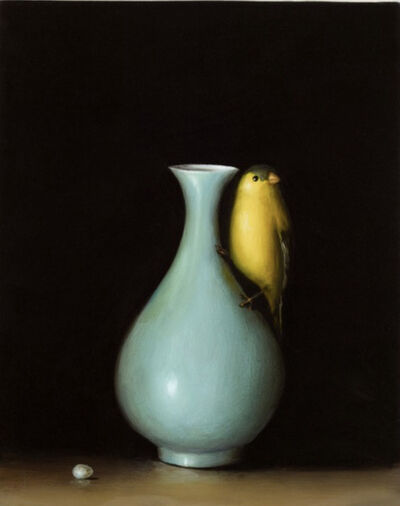 David Kroll, 'Goldfinch and Vase', 2007