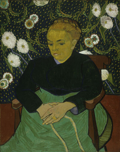 Vincent van Gogh, 'Madame Roulin Rocking the Cradle (', 1889
