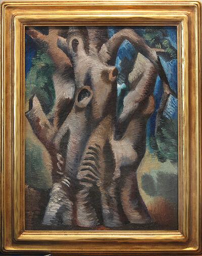 Jan Matulka, 'Tree Trunk', 1925