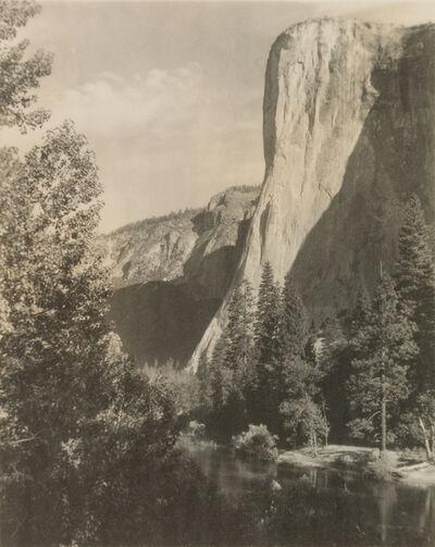 Ansel Adams, 'El Capitan, from the portfolio Parmelian Prints of the High Sierras', ca. 1923