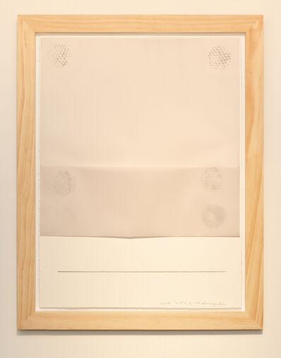 Noriyuki Haraguchi, 'Work on Paper 3 Gesture', 2019