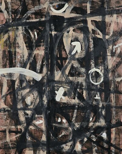 Adolph Gottlieb, 'Interpenetration', 1954