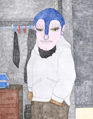 Kudluajuk Ashoona, 'Untitled (Masked Figure)', 2019