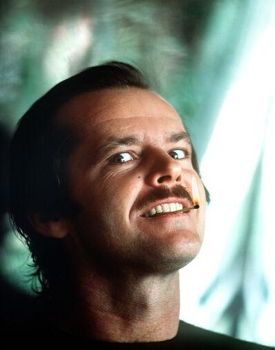 Douglas Kirkland, 'Jack Nicholson, Lit Match', ca. 1975