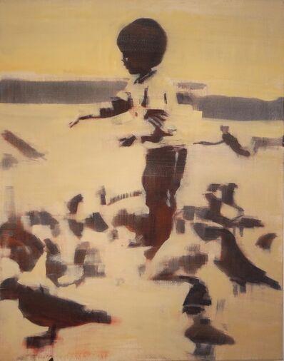 Mark Horst, 'Boys Feeding Pigeons #1'