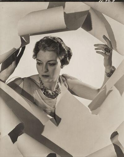 Cecil Beaton, 'Mrs Mona Williams', 1936