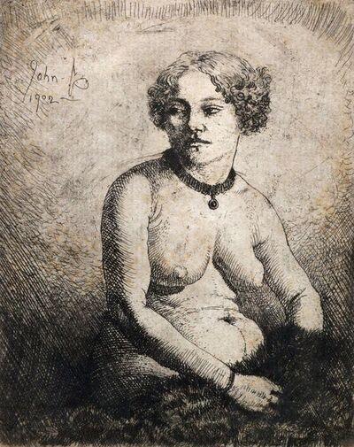 Augustus John, 'La Gravida (Campbell Dodgson 100)', 1902