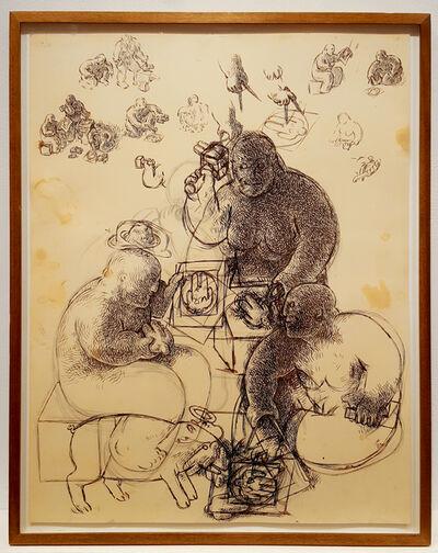 Tom Otterness, 'New Plans', 1985