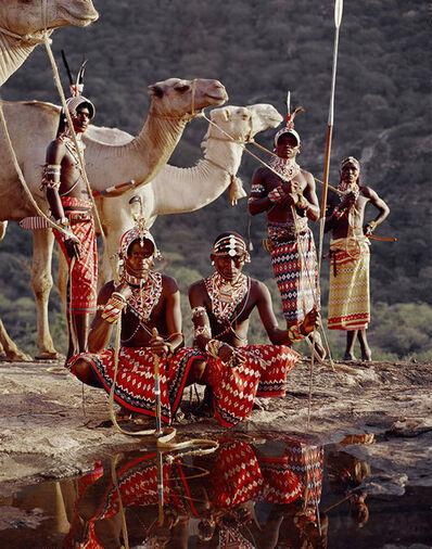 Jimmy Nelson, 'XVII 220 Lelesas, Louelen, Lewangu, Lepokodou, Loingu & Nyerere Ndoto Mountain Range Kenya - Samburu, Kenya', 2010