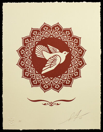 Shepard Fairey, 'Peace Dove Letterpress', 2013