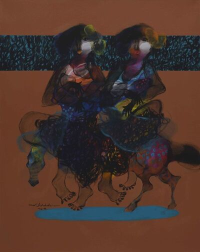 Omar Alshahabi, 'Women on Horse 1 / 1 نساء على حصان', 2018