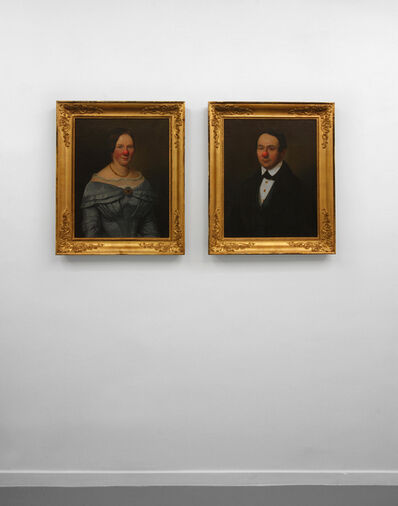 Hans-Peter Feldmann, 'Two Portraits Man + Woman with Red Nose', 2011