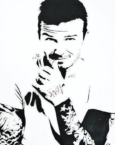 Bambi, 'Amour Icon (David Beckham)', 2015