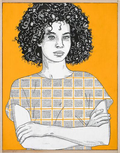 Jason Andrew Turner, 'she (golden)', 2016