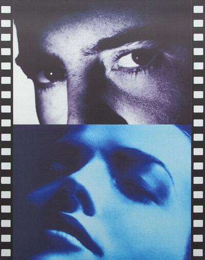 Peter Klasen, 'Séquence n.13 - Black Eyes / blue dream', 2005