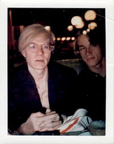 Andy Warhol, 'Andy Warhol and Jed Johnson', ca. 1982