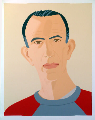 Alex Katz, 'Sweatshirt II, (from Alex & Ada portfolio) ', 1990