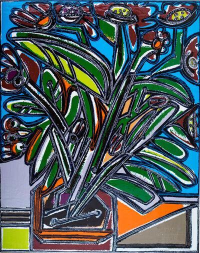 America Martin, 'The Exuberant Plant in the Clay Pot',