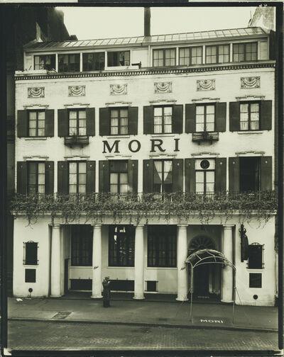 Berenice Abbott, 'Mori's Restaurant', 1935