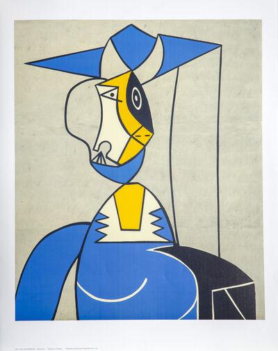 Roy Lichtenstein, 'Femme au Chapeau (after Picasso)', ca. 1995