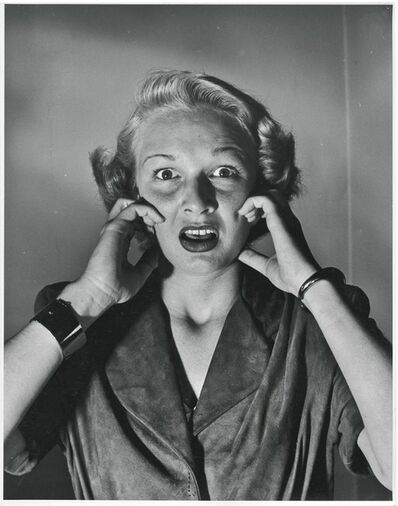 Philippe Halsman, 'Dolores Gardner, 3 Portraits ', 1949