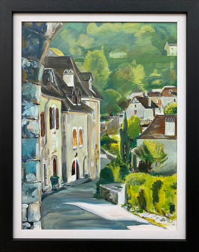 Angela Wakefield, 'Saint Cirq Lapopie Midi-Pyrénées France by British Artist', 2012