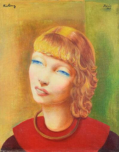 Moise Kisling, 'Jeune Fille Rousse', 1937