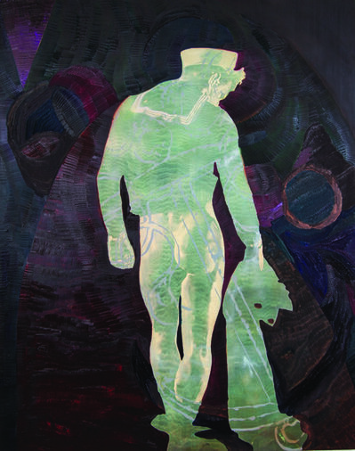 Justin Olerud, 'Hollywood Ghost (Hermit Card)', 2016